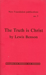 Cover image of The Truth Is Christ
